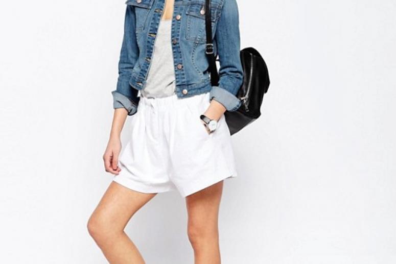 Фото модных джинсовых курток для девушек на весну и лето 2017
