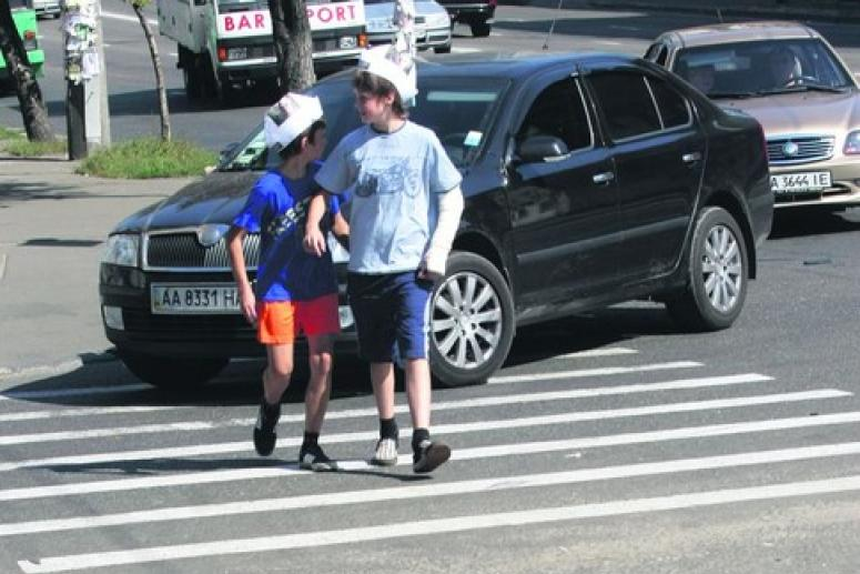 Поведение детей на дороге и тротуаре