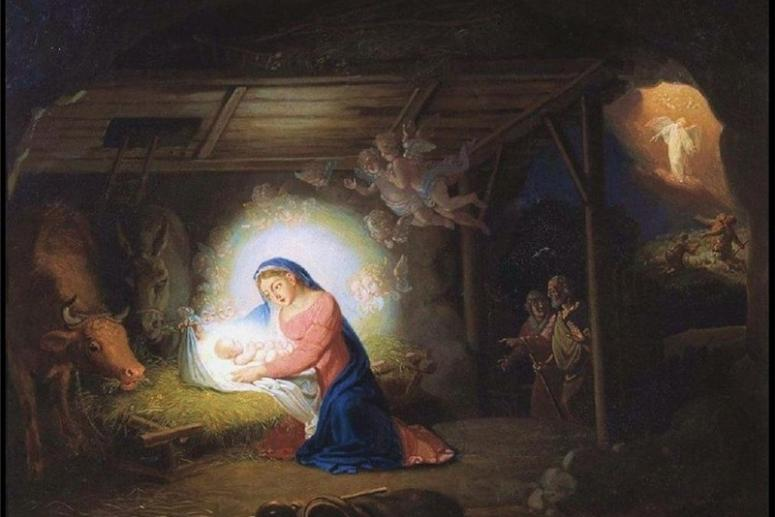 Рождественские открытки. Поздравить с Рождеством красивой открыткой