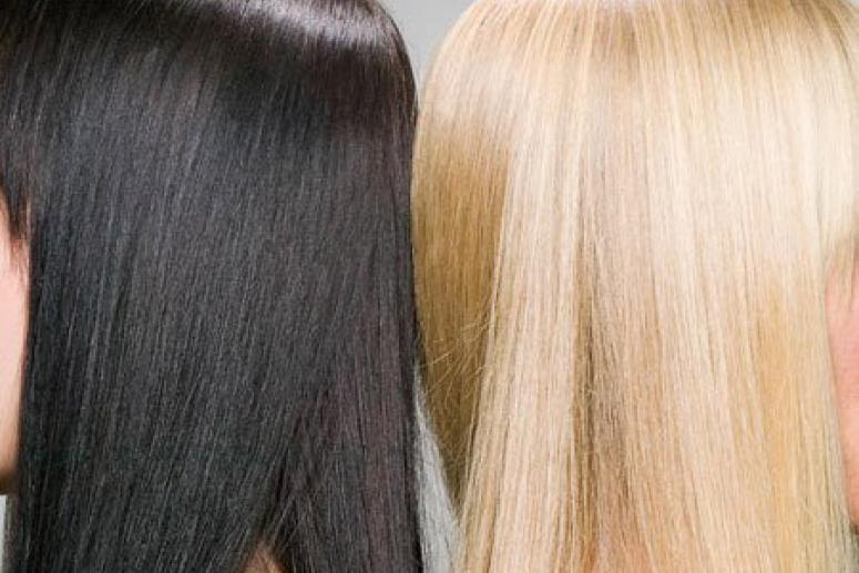 Экстремальная окраска: из брюнетки в блондинку и обратно