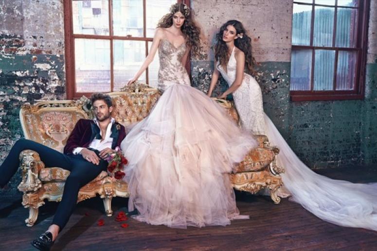 Кружевные свадебные платья - особенности дизайна