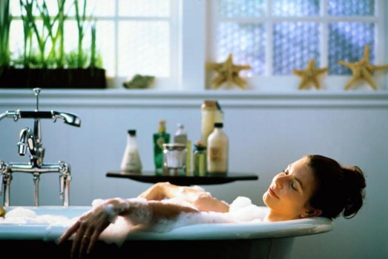 Солевая ванна для похудания