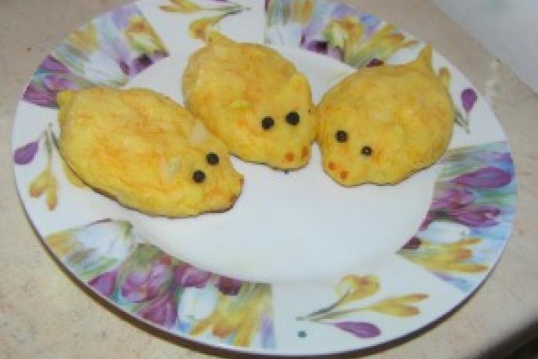 Детское меню: Картофельные поросята
