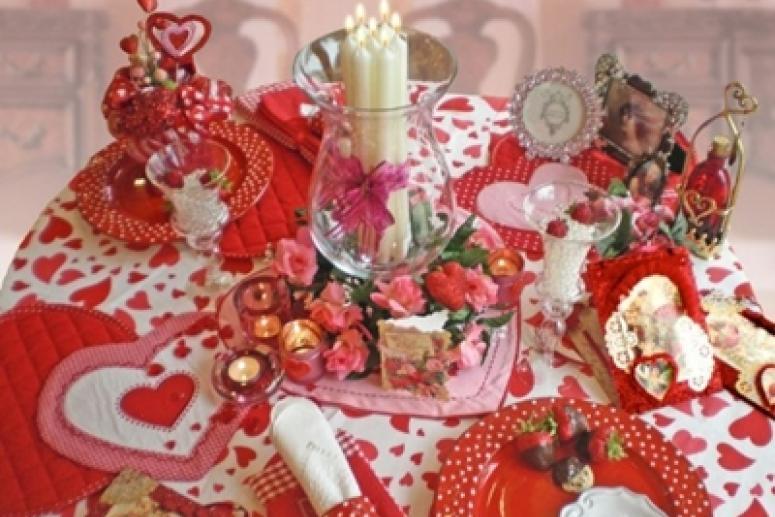 Как украсить дом на День Святого Валентина, фото