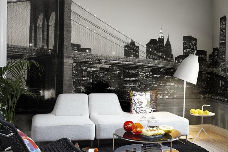 Интерьер в стиле Нью-Йорк
