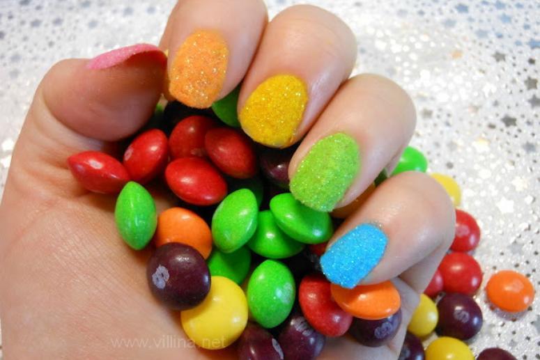 Бархатные ногти или velvet nails хит сезона осень 2012