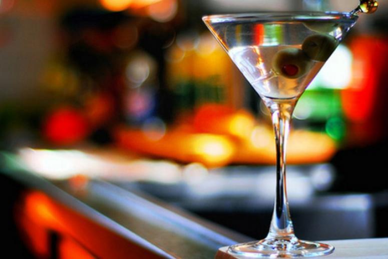 Коктейль с мартини