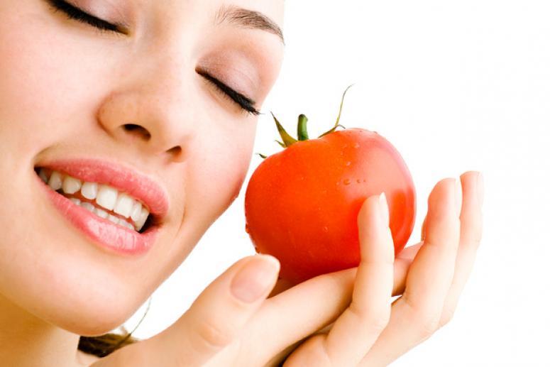 Маски для лица с помидорами
