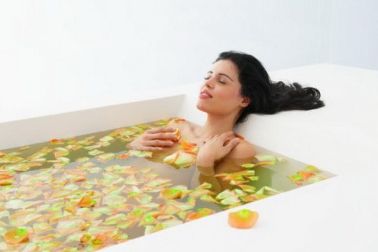 Ванна для сухой кожи