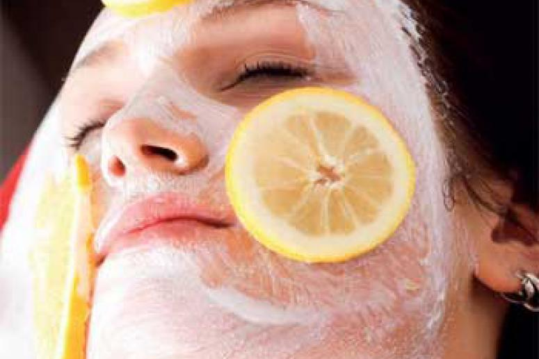 Сливочная маска с лимоном