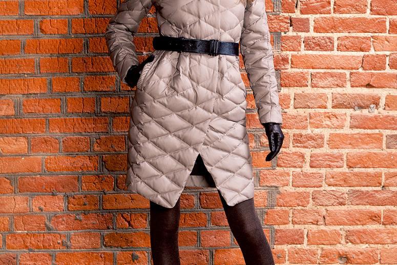 Легкость и теплота стеганого пальто
