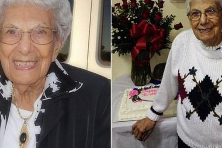 104-летняя долгожительница поделилась своими секретами