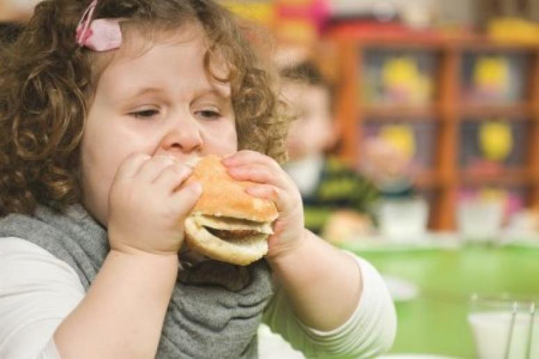 Каждый пятый ребенок в России страдает от ожирения