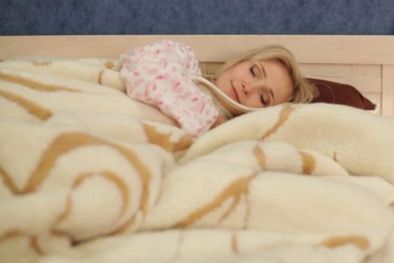 Тяжелое одеяло полезно для качественного сна