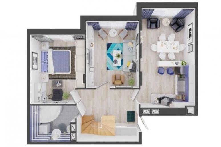 Двухуровневые квартиры: особенности планировки