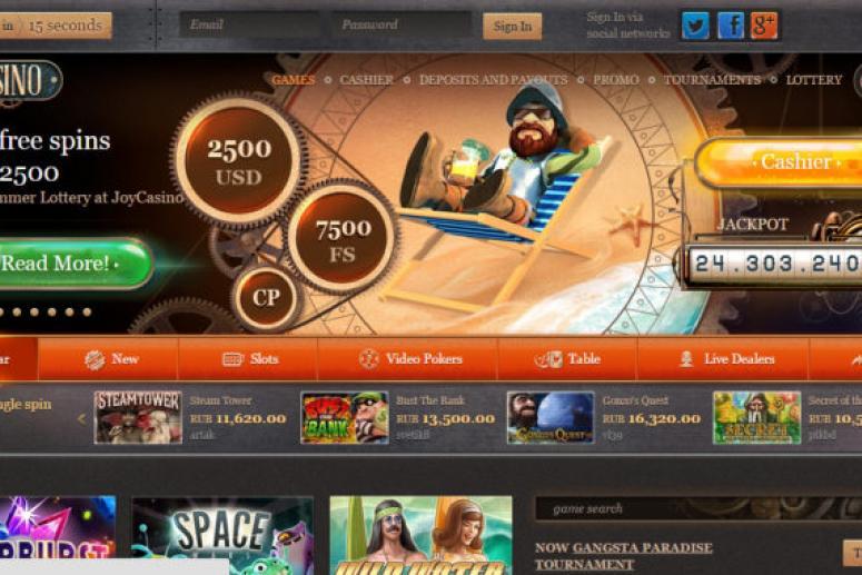 Казино JoyCasino: особенности онлайн игры