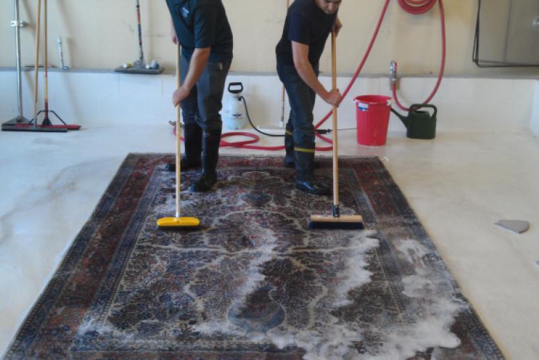 Технология стирки ковров