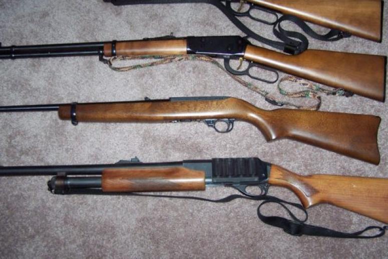 Виды оружия для охоты