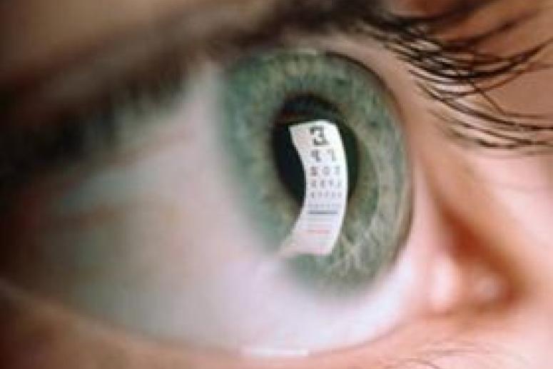 С чем связана острота человеческого зрения?