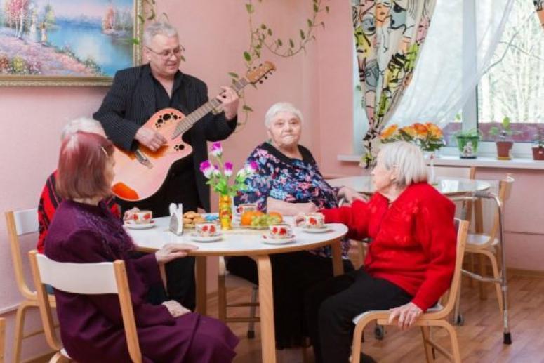Современный пансионат для пожилых: условия проживания